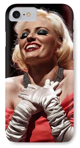 Marilyn Phone Case by Elizabeth Hart