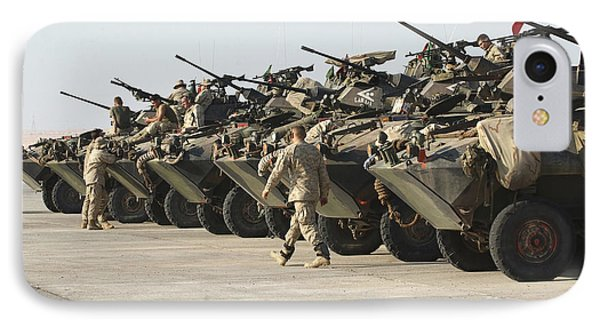 Marines Perform Maintenance On Light Phone Case by Stocktrek Images