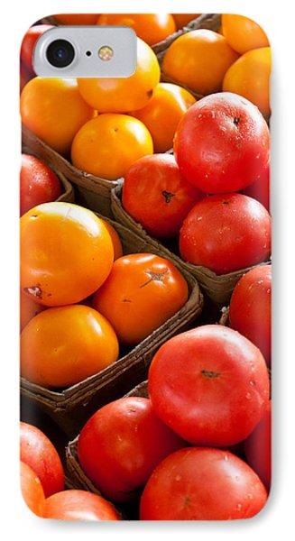 Market Tomatoes Phone Case by Lauri Novak