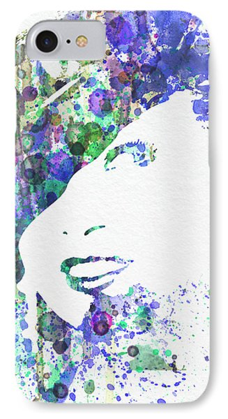 Marlene Dietrich IPhone Case by Naxart Studio