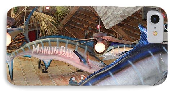 Marlin Bar IPhone Case by Deborah Hughes