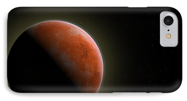 Mars - The Red Planet IPhone Case by Gordon Engebretson