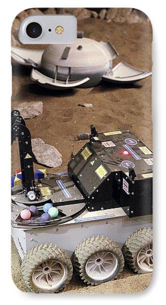 Mars Rover Testing Phone Case by Ria Novosti