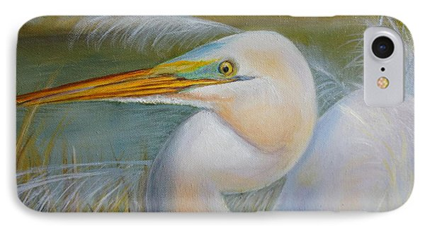 IPhone Case featuring the painting Marsh Master by Marlyn Boyd
