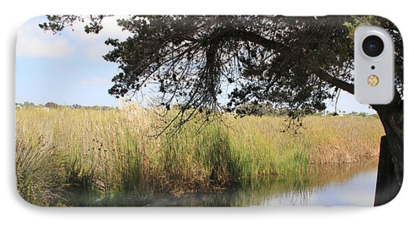 IPhone Case featuring the photograph Marsh Reflections by Jan Cipolla