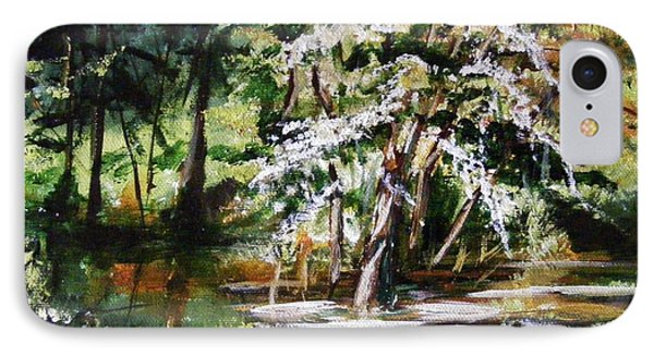 IPhone Case featuring the painting Marsh Tide by Karen  Ferrand Carroll