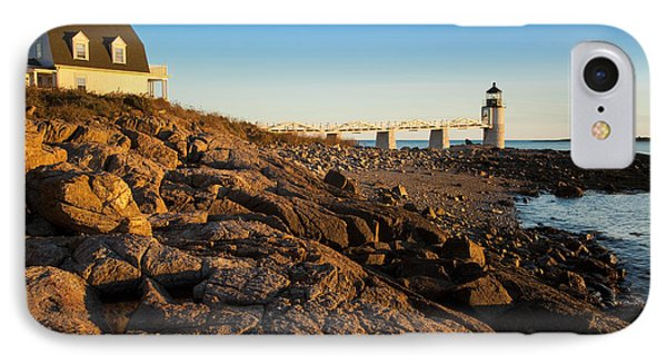 Marshall Point Lighthouse Phone Case by Brian Jannsen