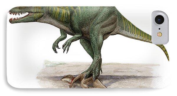 Marshosaurus Bicentesimus Phone Case by Sergey Krasovskiy