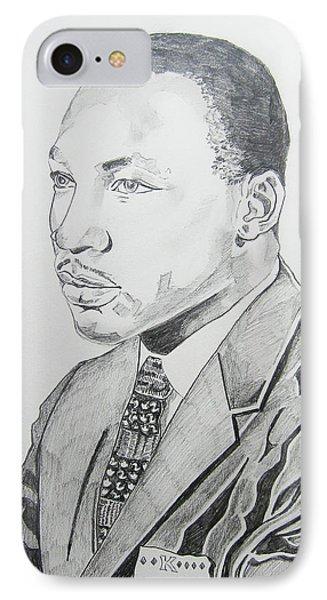 Martin Luther King Jr. Phone Case by John Keaton