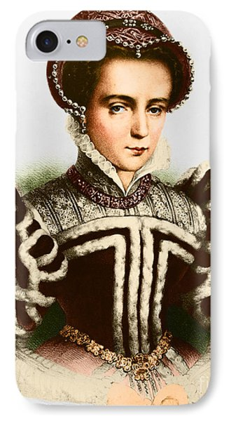 Bloody Mary iPhone 7 Case - Mary I, Queen Of England And Ireland by Omikron