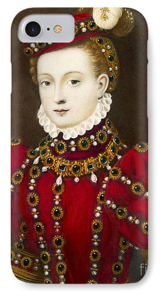 Mary Queen Of Scots Phone Case by Mary Evans Picture Library and Photo Researchers