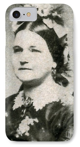 Mary Todd Lincoln, First Lady Phone Case by Photo Researchers