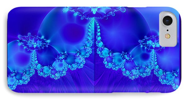 Marys Veil Fractal 60 Phone Case by Rose Santuci-Sofranko