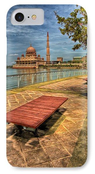 Masjid Putra Phone Case by Adrian Evans