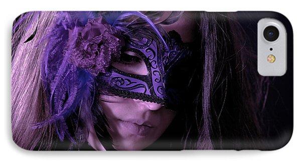 Mask Phone Case by Joana Kruse