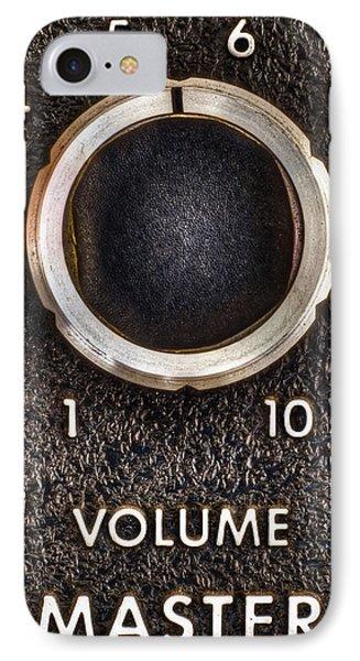 Master Volume IPhone Case by Scott Norris