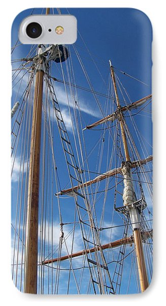 IPhone Case featuring the photograph Masts by Robin Regan