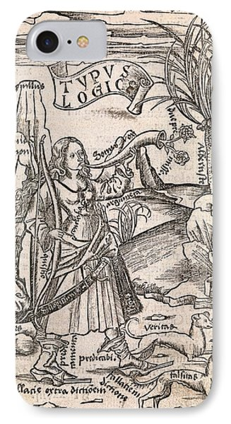 Mathematical Logic, 1503 Phone Case by Middle Temple Library