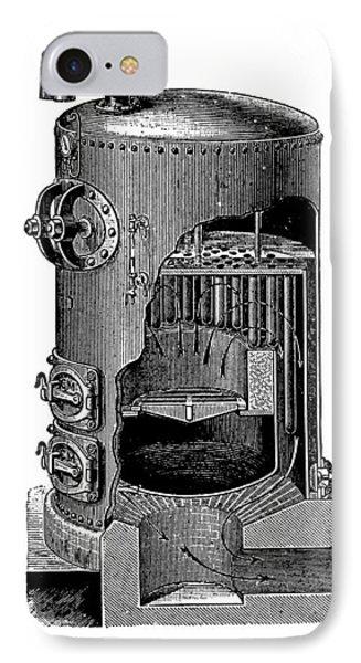 Mathian Steam Boiler Phone Case by Mark Sykes