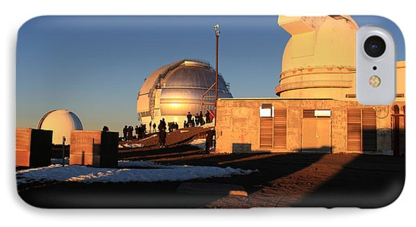 IPhone Case featuring the photograph Mauna Kea Observatories by Scott Rackers