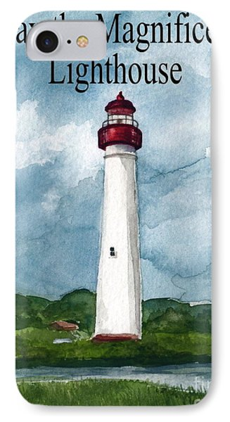 May The Magnificent Lighthouse  Phone Case by Nancy Patterson