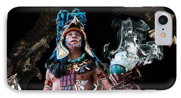 Mayan Spirit Phone Case by Elizabeth Hart
