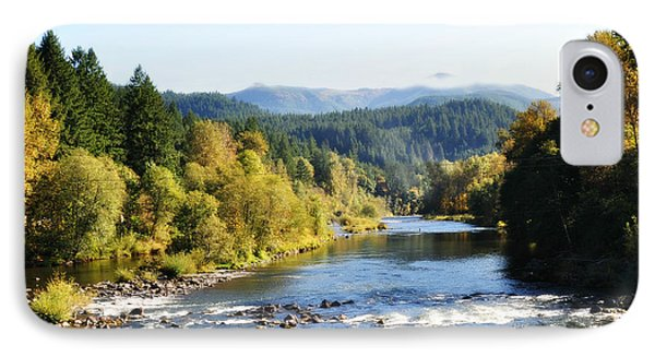 IPhone Case featuring the photograph Mckenzie River  by Mindy Bench