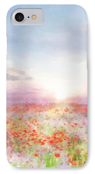 Meadow Flowers IPhone Case by Francesa Miller