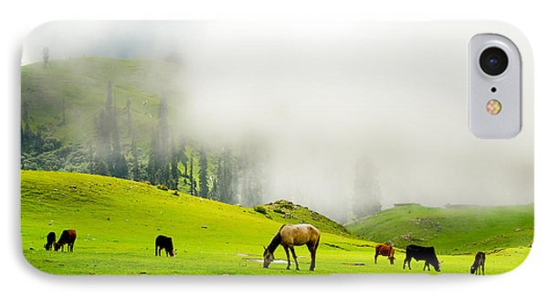 Meadows Of Heaven Phone Case by Syed Aqueel