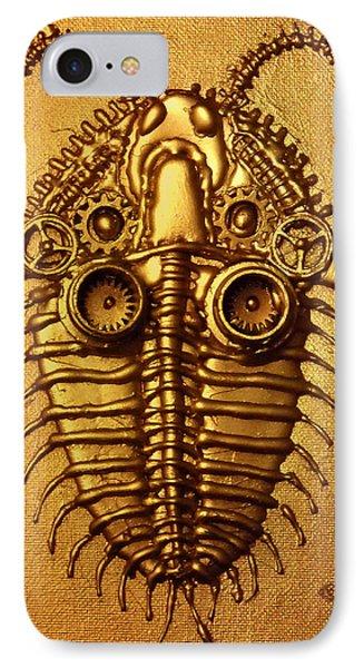 Mecha-trilobite 3 Phone Case by Baron Dixon