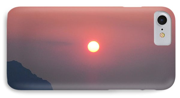Medaterainian Sunset Phone Case by Bill Cannon