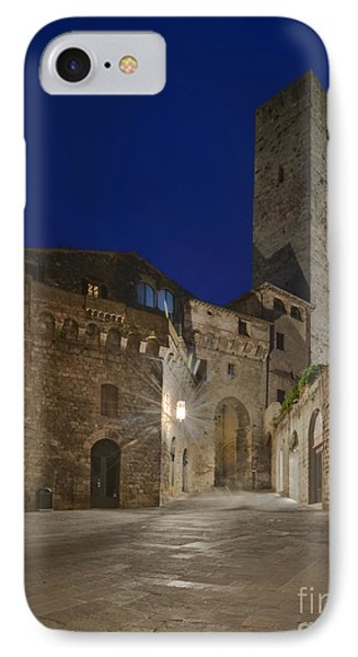 Medieval Street At Twilight Phone Case by Rob Tilley