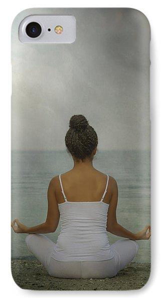 Meditation Phone Case by Joana Kruse