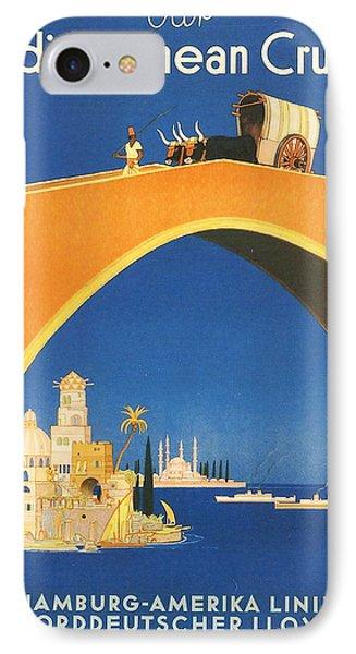 Mediterranean Cruising IPhone Case