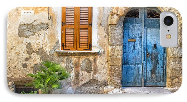 Mediterranean Door Window And Vase IPhone 7 Case