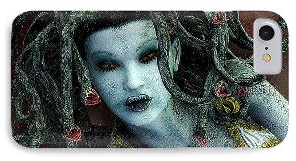 Medusa IPhone 7 Case by Jutta Maria Pusl
