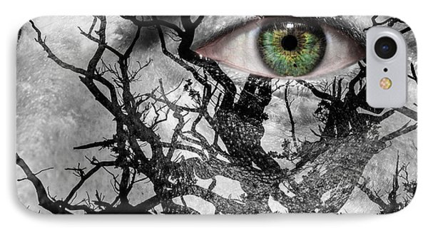 Medusa Tree Phone Case by Semmick Photo
