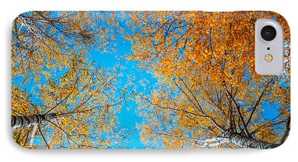 Meet In Heaven. Autumn Glory Phone Case by Jenny Rainbow