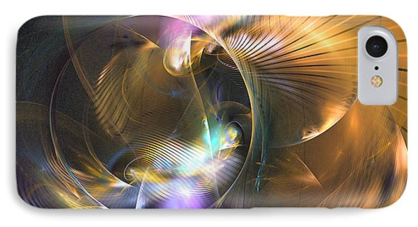 Mellow - Abstract Digital Art Phone Case by Sipo Liimatainen