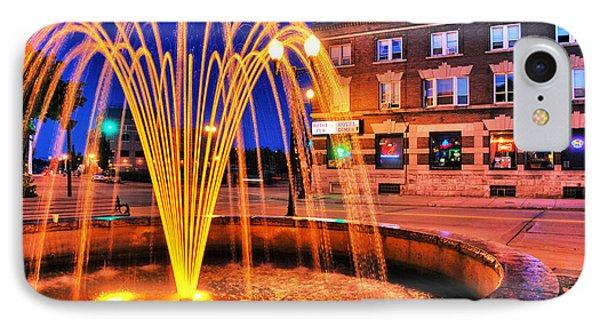 Menasha Lighted Fountain IPhone Case