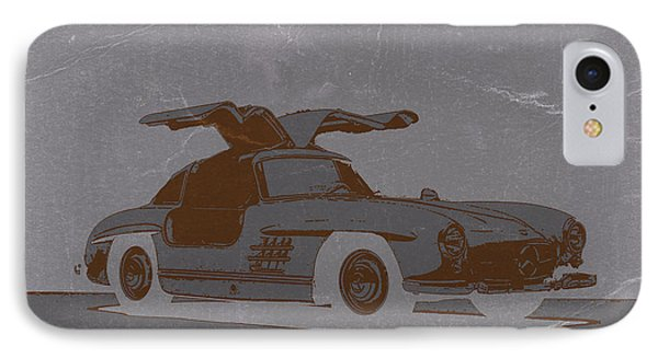 Mercedes Benz 300 IPhone Case by Naxart Studio
