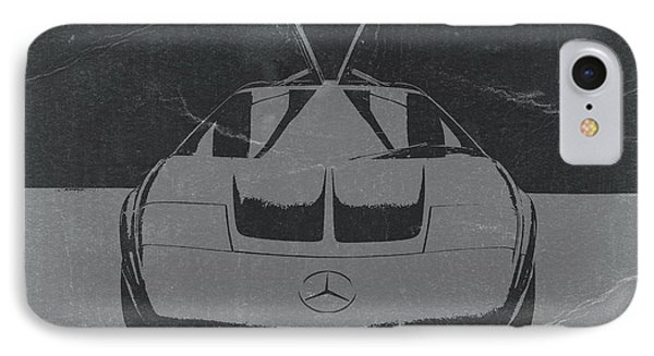 Mercedes Benz C IIi Concept IPhone Case by Naxart Studio