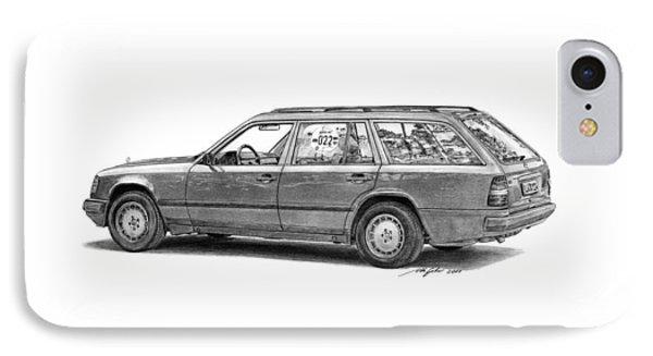 Mercedes-benz E-class Wagon Phone Case by Gabor Vida