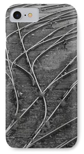 Merging Tracks Phone Case by Jeff Trotter
