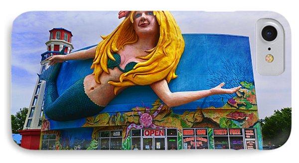 Mermaid Building Phone Case by Garry Gay