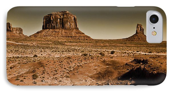 Merrick Butte IPhone Case by Ray Devlin