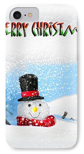 Merry Christmas IPhone Case by Billie-Jo Miller