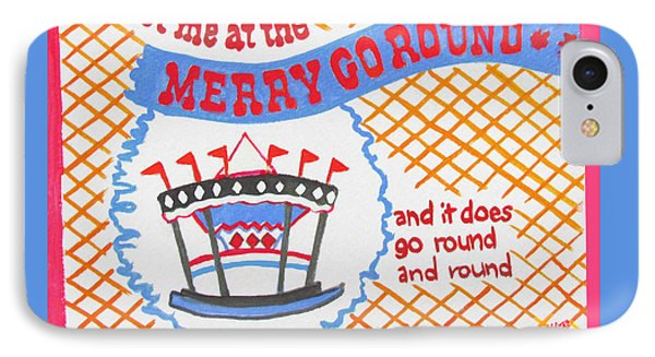 Merry Go Round IPhone Case by Beth Saffer