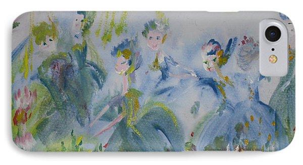 Merry Waltz Phone Case by Judith Desrosiers