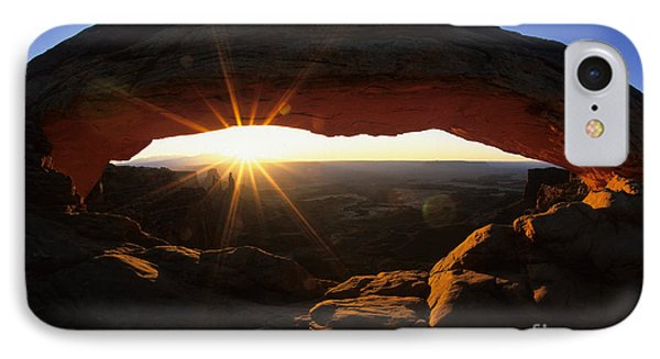Mesa Arch Sunrise Phone Case by Bob Christopher